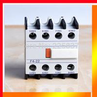 Free shipping(5pcs/lot) F4-22/40/31/13/04 LA1-DN22 LA1-D22/40/31/13/04 CJX2 AC contactor -auxiliary relay contact block 2NC+2NO