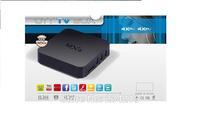 Wholesale MXQ Amlogic S805 Smart Google TV IPTV Box Quad-Core Android 4.4 XBMC Gotham 3D H.265 Airplay Miracast HD18Q HDMI CEC