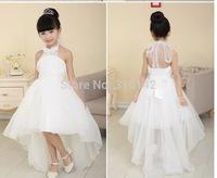 Retail! New arrived girls summer party dress princess beautiful girl Evening Dress free shipping W-6