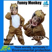 2013 New Halloween Kids sexy naughty monkey mascot party costume pajamas-KMSC0012