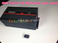 Best quality!!3000WPure Sine Wave Power Inverter with USB&Wireless remote contorl (CTP-3000W-WS)