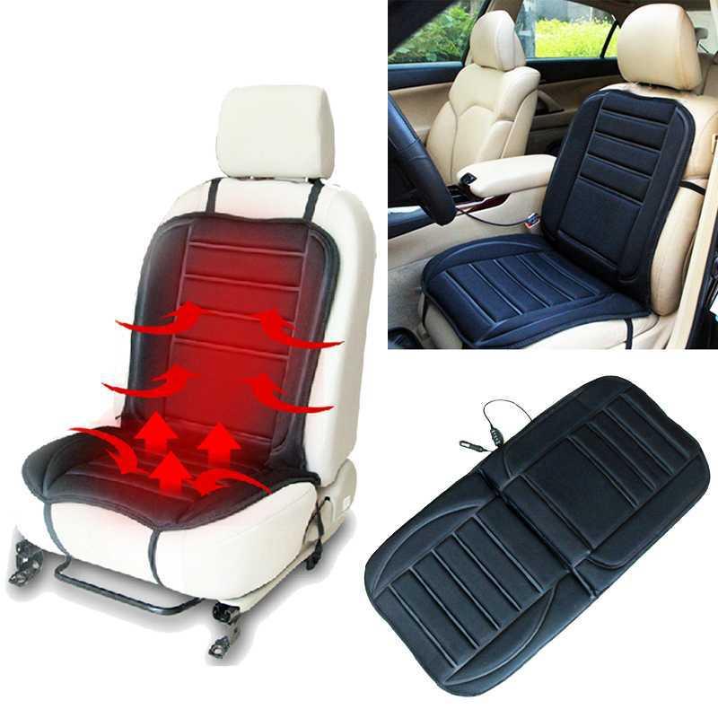 1PCS Car seat cushion warm in winter Car Heated Seat Cushion Hot Cover Auto 12V Heat Heater Warmer Pad-winter Black(China (Mainland))