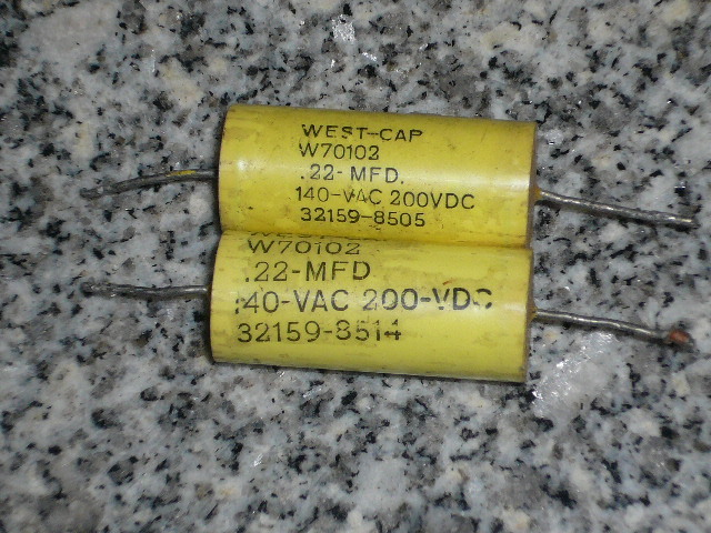 [SA]WEST-CAP American West, fever axial 0.22UF200V volume 12.5 * 29.5--20pcs/lot(China (Mainland))