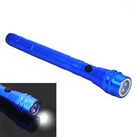 Fashion Mini Blue New 3 LED Flexible Telescopic Magnetic Pick Up Tool Torch LED Light Flashlight, Free Shipping