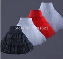 2014 Elastic Waist Wedding Bridal Dress Petticoat Underskirt Crinoline Wedding Gown Dress 4 Colors  EB24(China (Mainland))