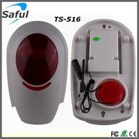 Wholesale alarm system sensors outdoor siren and strobe light LED strobe siren outdoor buzzer