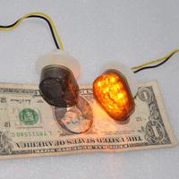 SMOKE Flush Mount Turn SIGNAL LED Blinker for Yamaha YZF R6 R6S R1 Left+Right