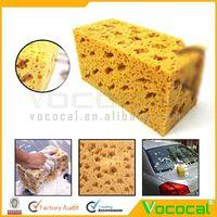 Honeycomb Big Durable Soft Coral Car Dish Washing Sponge Kit Rich Foam Cleaning Sponge
