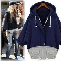 Sport Suit Women 2014 Fashion Big Brand Plus Size XL Casual Tracksuits Hoodies Loose Cardigans Coat Moleton Feminino Sweatshirt