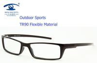 Eyewear Accessories Fashion Myopia Sport Glasses 6 Base Blue/Brown TR90 Flexible Eyeglasses Men