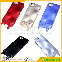 Fancy Melting Ice Cream Style Hard Plating Metal Case Cover Skin for Samsung Galaxy Note 3 N9006, Free Shipping, Dropshipping