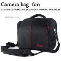 100% New High Quality Shoulder Digital Camera bag for DSLR Rebel T2i T3i T4i T5i EOS 700D 650D 600D 550D 70D 60D
