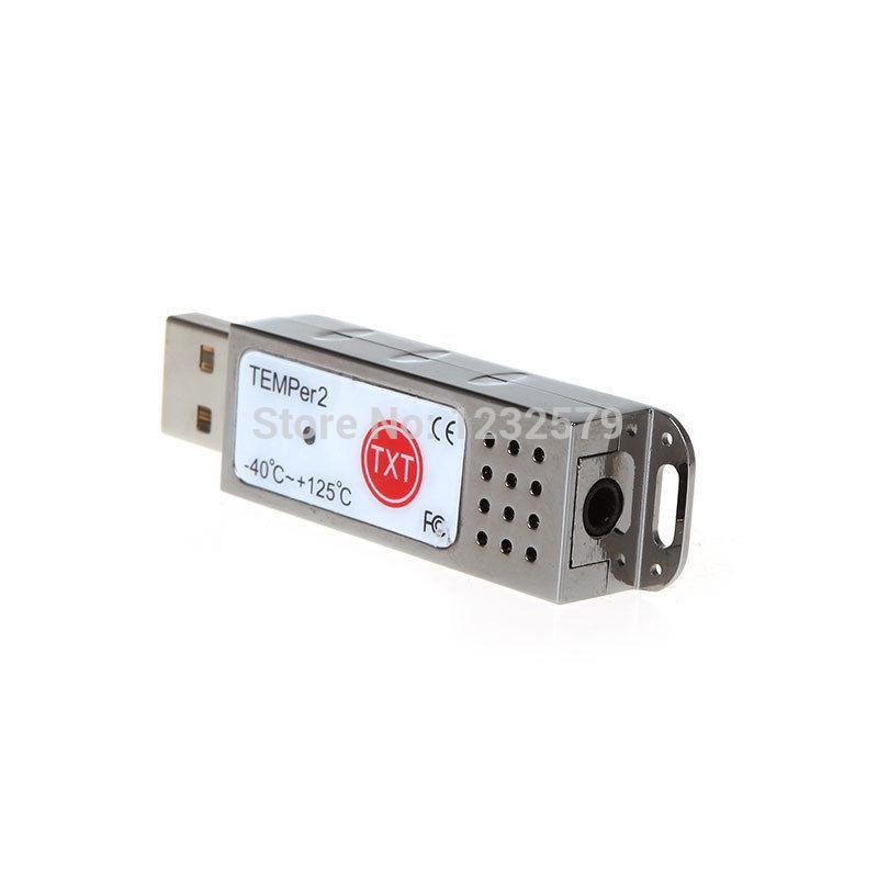 TEMPer2 PC Laptop USB Powered Thermometer Temperature Sensor Data ...