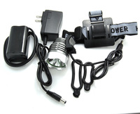 CREE XM-L T6 WHITE  led Headlamp with full set accessories, Bicycle Bike flashlight Torch high power lamp free fedex 20pcs/lot