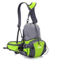 New Arrival Outdoor Backpacks Multifunction Waterproof Nylon Mountaineering Bag Men and Women Travel Hiking Rucksack Waist Bag