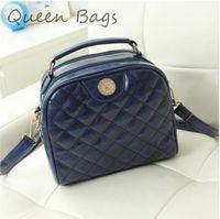 High quality  2015 Women famous brand Handbag Vintage plaid Shoulder Bag Femlae PU leather Clutch Bag S4641