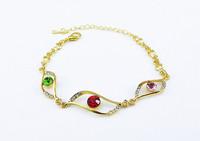 HOT!!! Mix Lot 12pcs/lot DS033 Fashion Joker Jewelry Accessories Wholesale Muses' Eye Charm Hand Jewelry Women Bracelet