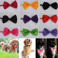 Fashion Adjustable Collar Bowtie Cute Cat Dog Puppy Pet Bow Neck Tie Necktie Headdress Butterfly Accessories Gift