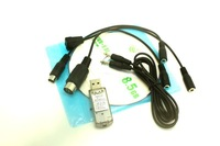 G7  G6.5/G5.5 G5 /Phoenix 5.0 22 in 1 USB Simulator Cable for RC Realflight  fms 20 in 1  all dongle