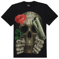 2014 New Brand Men's Cotton Short Sleeve T-shirt Fashion O-Neck Casual 3d Print T Shirt :M-XXXL Top Quality Hot