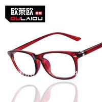 2014 hot fashion brand Rivet  women men glasses plain glasses myopia frame mirror oculos Gafas de sol 4 colors