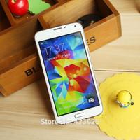 Free DHL 1:1 I9600 S5 mobile phone G900 MTK6592 Octa core MTK6582 Quad core 2GB RAM 16GB ROM Android 4.4 Fingerprint Heart Rate