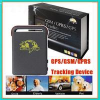 TK102 Mini Car 850/900/1800/1900 4 Bands GPS/GSM/GPRS Tracking Device Mini Global Real Time Tracker Full Accessories