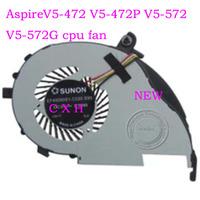 LAPTOP CPU  FAN FOR Aspire V5-472 V5-472P V5-572 V5-572G EF40060S1-C020-S99 DC5V=2.50W  free shipping