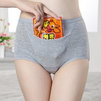 1PC women menstruation period panties cotton keep warm underwear women physiological briefs anti-leakage panties