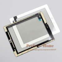 free shipping brand new  100% test well  touch screen assembly +home button+3M adhesive  for ipad 2