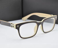 2015 NEW Preppy style square clear lens Optical frames glasses Men Optical Eyeglasses Unisex computer glasses Spectacles Black