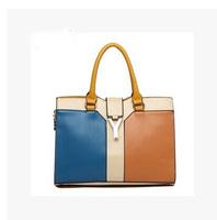 2014 New Women Fashion Candy Color Top Quality PU Leather Women Handbags  Small Bag , Women Fashion Women Messenger bags
