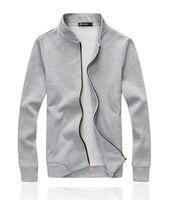 Free shipping 2014 Autumn Men's fashion polar fleece cotton coat Han edition cultivate one's morality leisure collar fleece