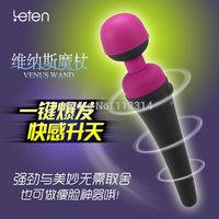Rechargeable Ultra Powerful 10 Speed Pulse Mute Vibration Wand Massager,AV Vibrator, Clitoris Stimulator,Sex Toys for woman