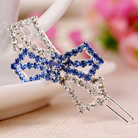 2014 new  Korean Style crystal Hair Clips Hairpins Barrettes For Women Fashion Hair Accessories
