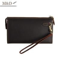 High Quality Men Clutch Bags Purses Hot Sale 100% Genuine Leather Wallets Credit Card Holder