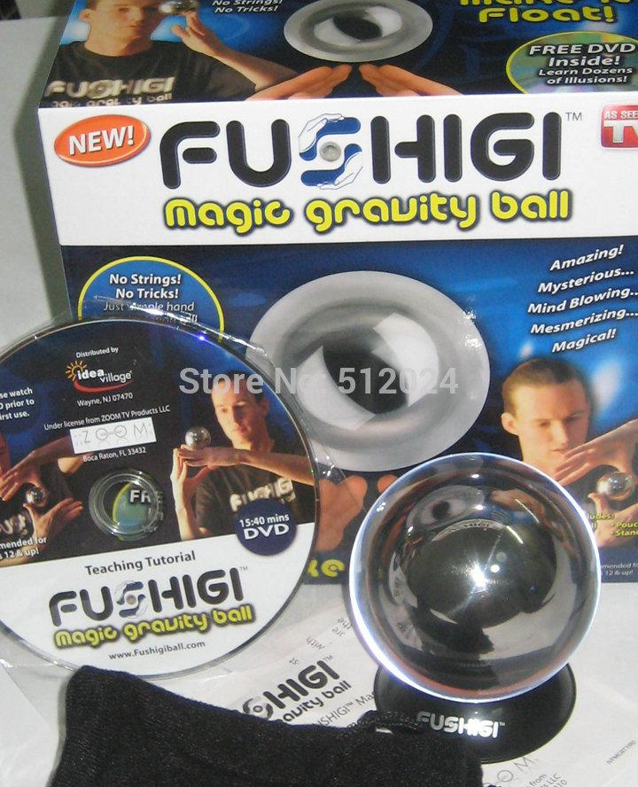 Free Shipping! 1pc New Magic Gravity Ball Fushigi Ball Color Box With DVD As Seen On TV -- Wholesale & Retail(China (Mainland))