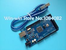 Free shiping !!! Mega 2560 R3 Mega2560 REV3 ATmega2560-16AU Board + USB Cable compatible for arduino 2560 good quality low price(China (Mainland))