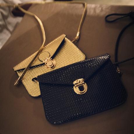 2014 new summer Korean toothpick marks Fashion Bag Shoulder Satchel mini mobile phone bag female bag(China (Mainland))