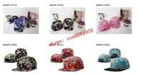 new Brands 2014 Blank Floral Script Snapback Hats classic men & women's designer chen flower snapback caps styles Free shipping