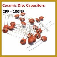 (300pcs/lot) 2pF~100nF 30 Values*10pcs=300pcs Ceramic Disc Capacitor Assorted Kit Assortment Set