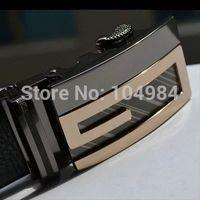 2014 New Fashion Men's Genuine leather belts Luxury Automatic belt buckle Leather Belt designer Belts For men