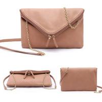 Latest Style Women Messenger Bags Envelope Bolsas Shoulder Bag PU Leather Fashion Chain Evening Bags Cross-body WJ1028