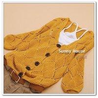 2014 New Arrival women's Autumn Cardigan Sweater,4 Colors,Wholesale/Retils WF-219
