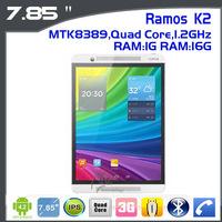 "Ramos K2  3G Phone Call mini pad Tablet PC 7.85"" IPS Screen 1024x768 Android 4.2 Dual Camera  1GB RAM 16GB"
