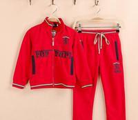 2014 new arrive top brand  boys set long sleeved hoodies+pants autumn cloth set children boys sport set children clothing set