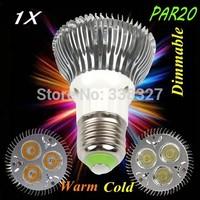 1pcs/lot 3 * 3 w par20  E27 / GU10  led lamp high-power par20 light cup 3 * 3 w led bulbs AC 110-245V Free Shipping
