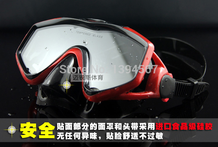 Professional Pool Diving Mask Pool Diving Equipment