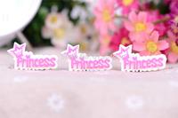 Free Shipping  50PCS/Lots Very Hot and Kawaii  Resin princess cabochons FOY DIY  37*20mm