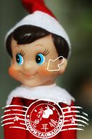 New Arrival Plush Toys Vintage Toy Elf On The Shelf Action Figure Christmas Elf SHD-1072